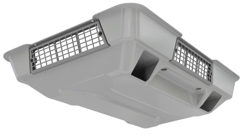Кондиционер MCC EcoFlex4E накрышный моноблок 4kW 24V Air_Ducting